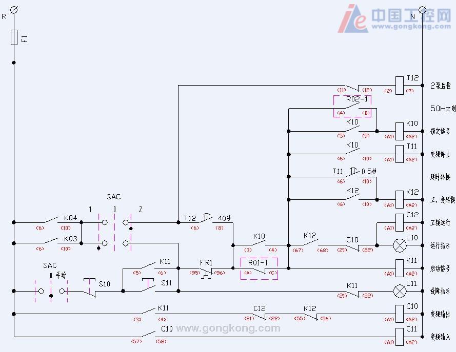 75kw变频转工频时的冲击电流有多大?