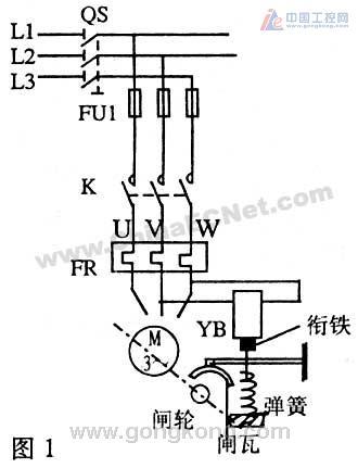 如电磁抱闸,电磁离合器等电磁铁制动器