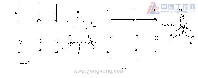 三角形接法的疑惑-专业自动化论坛-中国工控网
