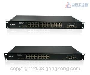 三泰科技 SUNIX推出全新-管理型工业用以太网络交换机
