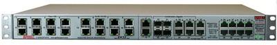 西斯耐特EK系列32口管理型工业以太网交换机