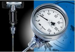 堡盟TBHI双金属温度计-基于导线引导和阻尼液效果的稳定指针