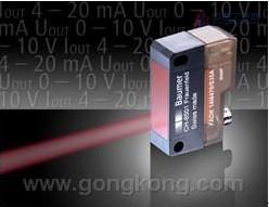 堡盟带红光LED的测距传感器FADK 14