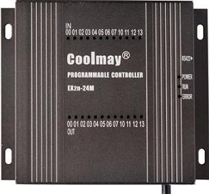 它兼容三菱fx2n的全部基本指令和常用功能指令