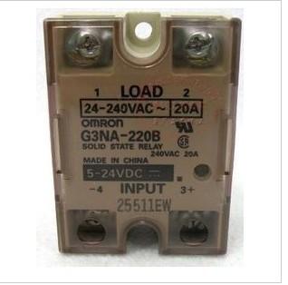 欧姆龙固态继电器实物接线