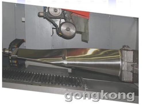 叶间/MOTEC CNC叶间磨床数控系统(2012/12/20)发动机叶片毛坯通常...
