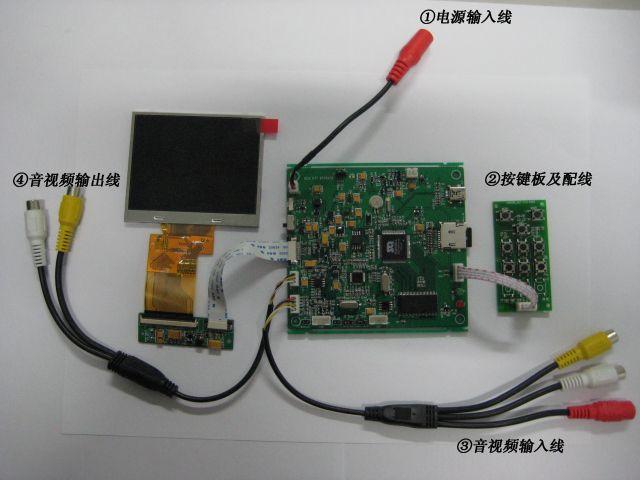 最新推出-行车记录仪sd卡视频录像模块
