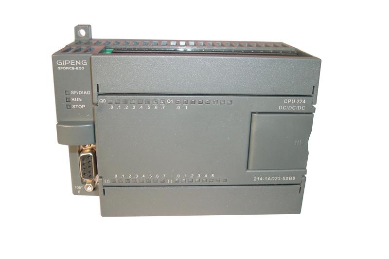GForce 200 PLC是由上海巨朋自动化技术研发生产的新一代高品质PLC, 主机、模块与西门子S7-200 PLC完美兼容,创新支持CAN通讯,CPU224至少2个 通讯口,最大6轴100KHz脉冲输出(可定制200KHz),超大用户程序空间(36KB)和用 户数据空间(20KB),支持西门子编程软件STEP7-Micro/Win编程,主机、模块可以 与西门子PLC混合交叉使用,用户数据掉电永久保持, 内置电池,实时时钟掉电保 持2年以上, 固定端子和可插拔端子两种可选,方便安装调试。 订货数据